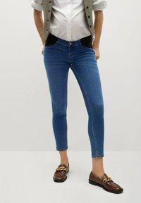 Mango - MTERNITY-I - Jeans Skinny Fit - dunkelblau - 0