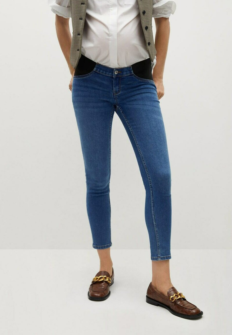 Mango - MTERNITY-I - Jeans Skinny Fit - dunkelblau