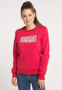 myMo - Sweatshirt - rot - 0