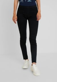 edc by Esprit - TREGGINGS - Trousers - black - 0