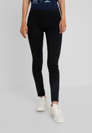 TREGGINGS - Tygbyxor - black