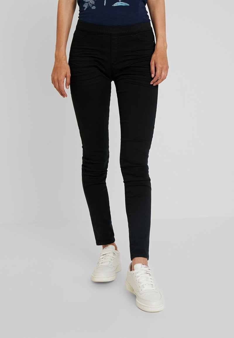 edc by Esprit - TREGGINGS - Trousers - black