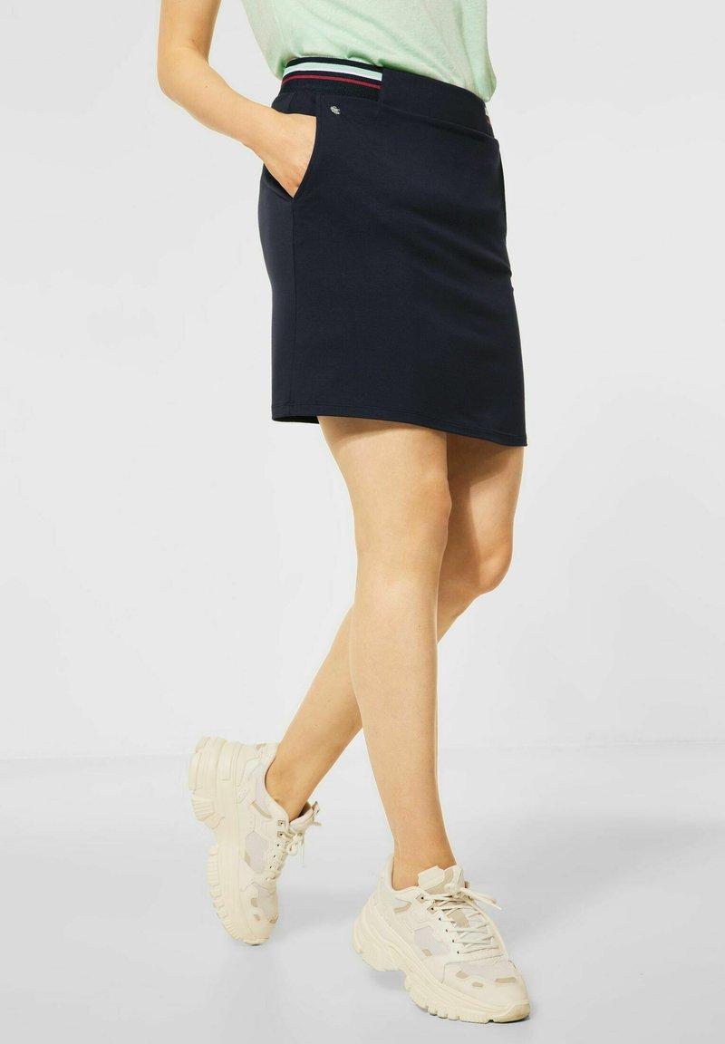 Street One - Pencil skirt - blau