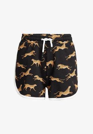 MET LUIPAARDDESSIN - Shorts - black