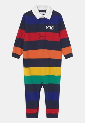 ONE PIECE COVERALL - Overal - rainbow/navy