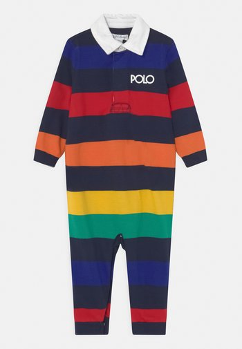 ONE PIECE COVERALL - Jumpsuit - rainbow/navy