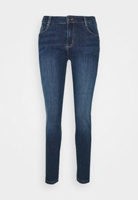 KIMBERLY PATRIZIA - Jeans slim fit - dark blue denim