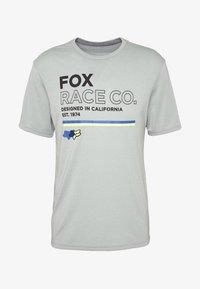 Fox Racing - ANALOG TECH TEE - T-Shirt print - light green - 3