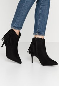 Simply Be - WIDE FIT DAHLIA - Ankle boots - black - 0