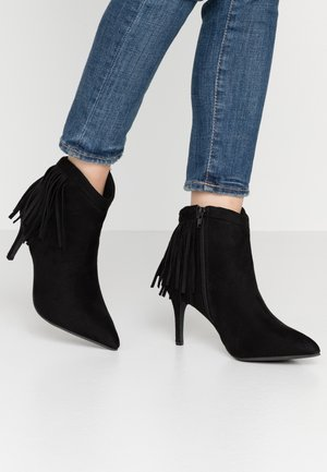WIDE FIT DAHLIA - Ankle boots - black