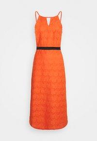 Lace & Beads - CORALIE MIDI - Koktejlové šaty/ šaty na párty - orange - 3