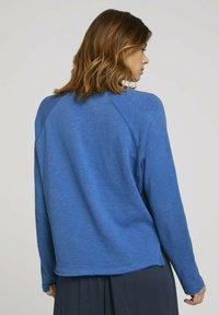 TOM TAILOR DENIM - Long sleeved top - mid blue - 2
