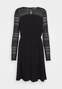 Vila - VIURIS LACE DRESS - Day dress - black - 4