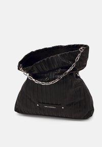 KARL LAGERFELD - KUSHION FOLDED TOTE - Tote bag - black - 4