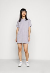 Missguided Petite - BASIC DRESS 2 PACK - Sukienka z dżerseju - grey marl - 1