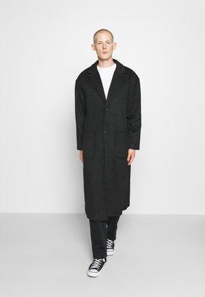 WATSON LONGLINE OVERCOAT - Classic coat - black