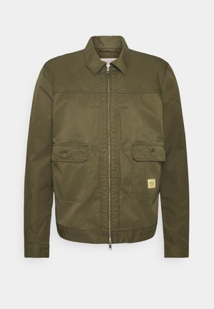 Summer jacket - olive green