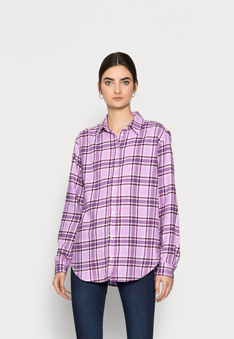 Gap Tall - EVERYDAY  - Button-down blouse - purple