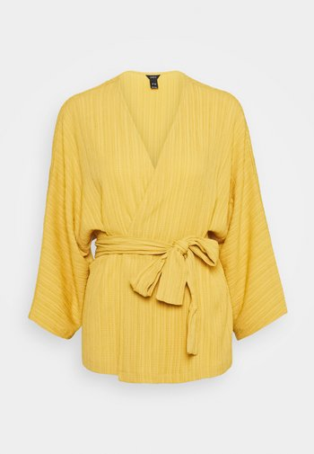 KAFTAN KIMMI - Veste légère - dusty yellow