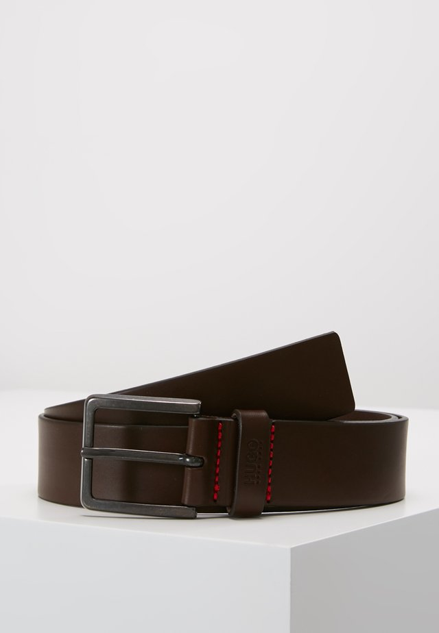GIONIO - Skärp - dark brown