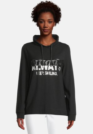 Sweatshirt - black/silver
