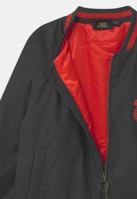 Mini Rodini - E.T. REFLECTIVE BASEBALL  UNISEX  - Winter jacket - black - 3