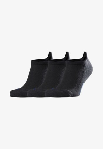 COOL KICK 3-PACK SNEAKER - Socks - black