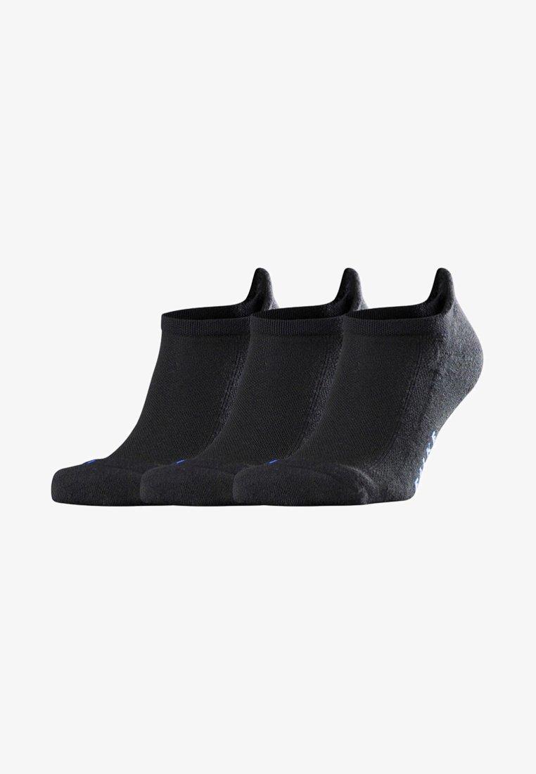 FALKE - COOL KICK 3-PACK SNEAKER - Socks - black