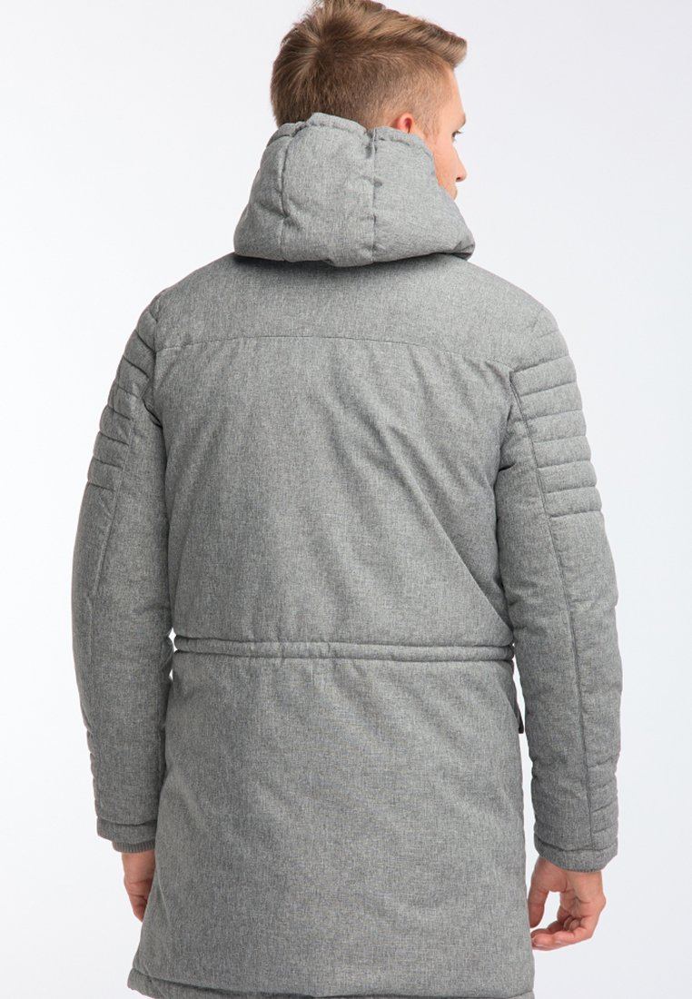 Mo Veste d'hiver - mottled light grey