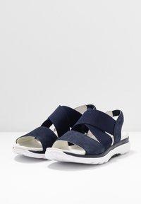 Gabor Comfort - Platform sandals - blue - 4
