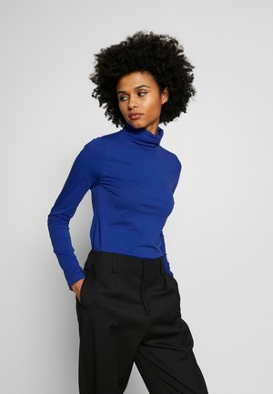 TISSUE TURTLENECK - Long sleeved top - oxford royal