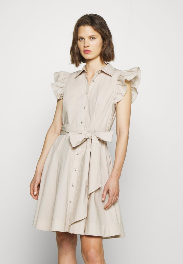 LIRA DRESS - Blousejurk - pumice stone