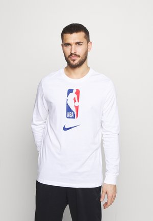 NBA LONG SLEEVE - Long sleeved top - white