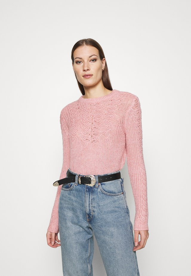 SUSTAINABLE PONTELLE  - Jumper - dusky rose