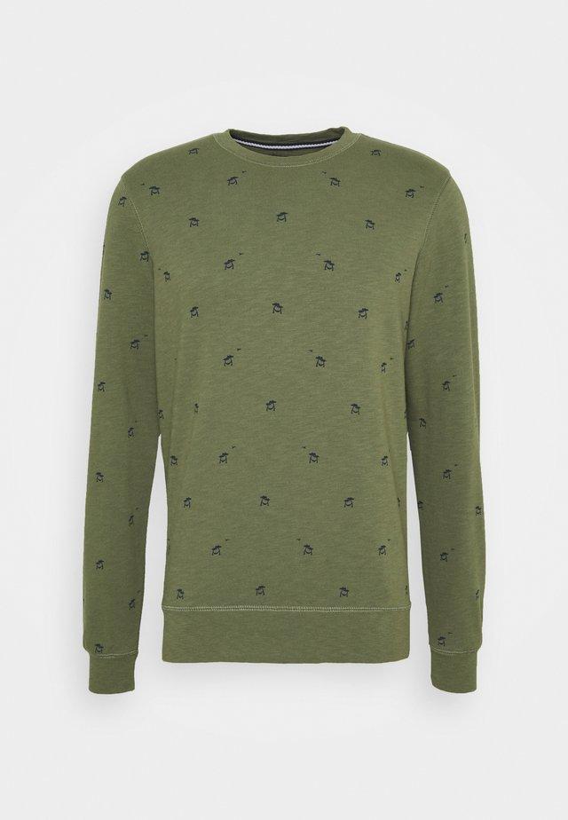 Sweatshirt - dusty army