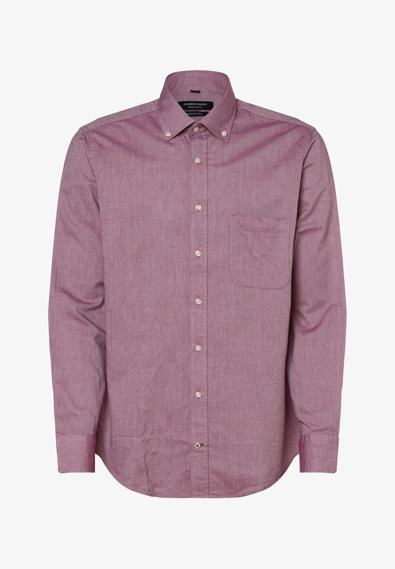 Andrew James - Shirt - himbeer