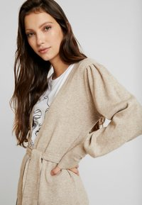 Vila - Cardigan - natural melange - 4