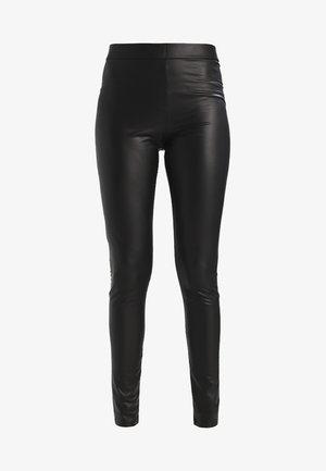 SHINY  - Leggings - Trousers - black