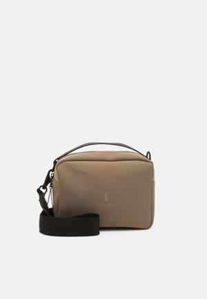 BOX BAG - Bolso de mano - velvet taupe