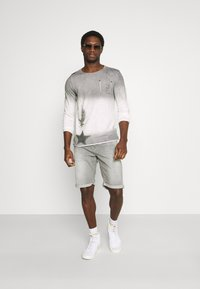 Key Largo - ENDEAVOUR ROUND - Long sleeved top - silver - 1