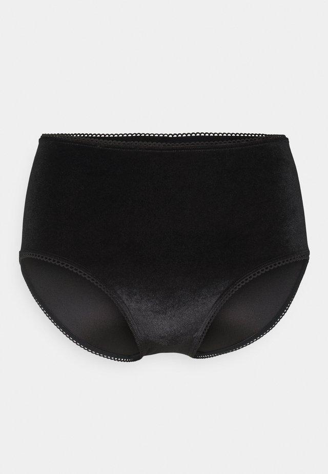 BERIT HIGHWAIST - Slip - black dark