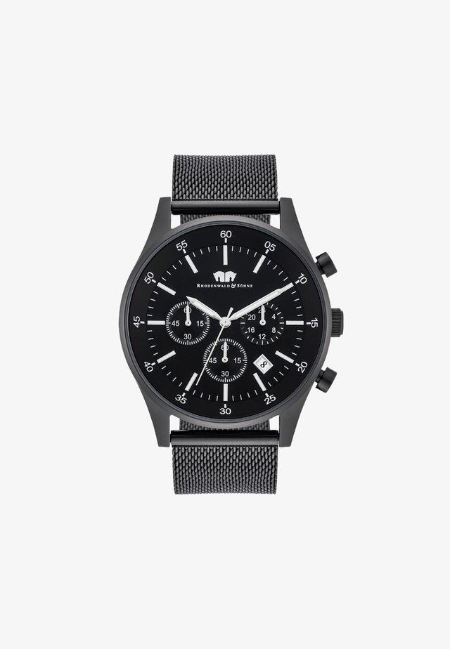 GOODWILL - Chronograph watch - black