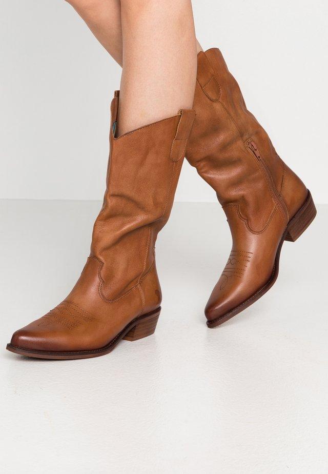 GERBBERA - Cowboy/Biker boots - lavado
