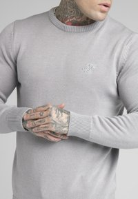 SIKSILK - CREW - Jumper - light grey - 4
