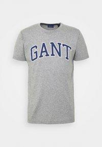 GANT - ARCH OUTLINE - Print T-shirt - grey melange - 3