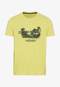 camel active - MIT PLATZIERTEM FOTOPRINT - Print T-shirt - kiwi - 5
