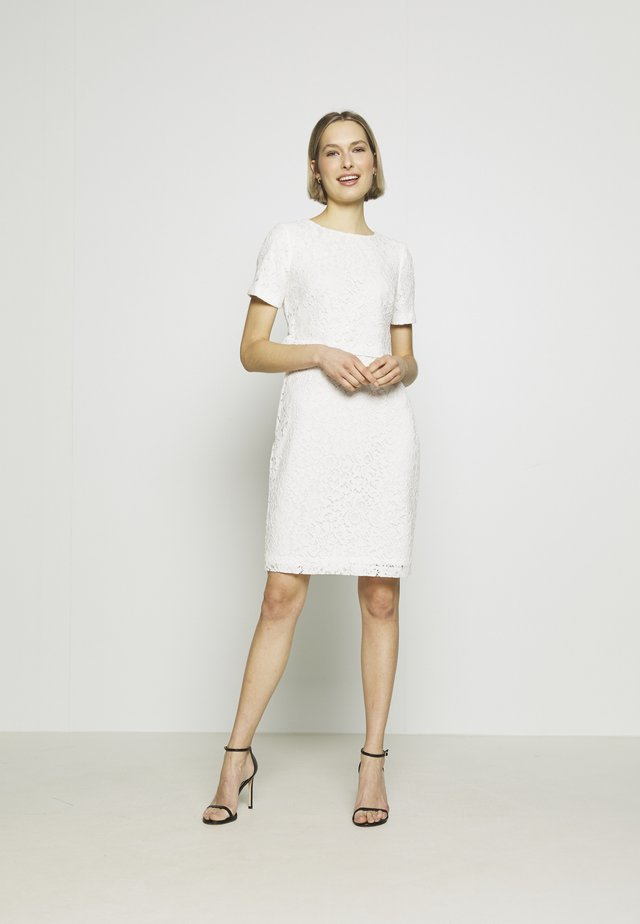 PIAZZA FLORAL  - Cocktail dress / Party dress - cream