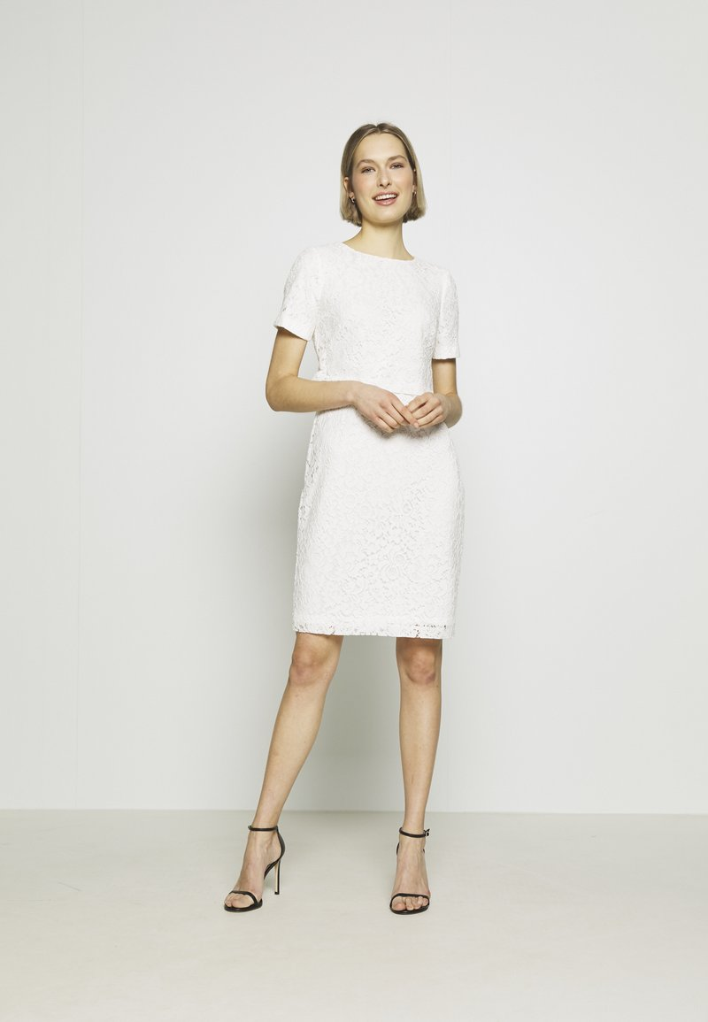 Lauren Ralph Lauren - PIAZZA FLORAL  - Robe de soirée - cream