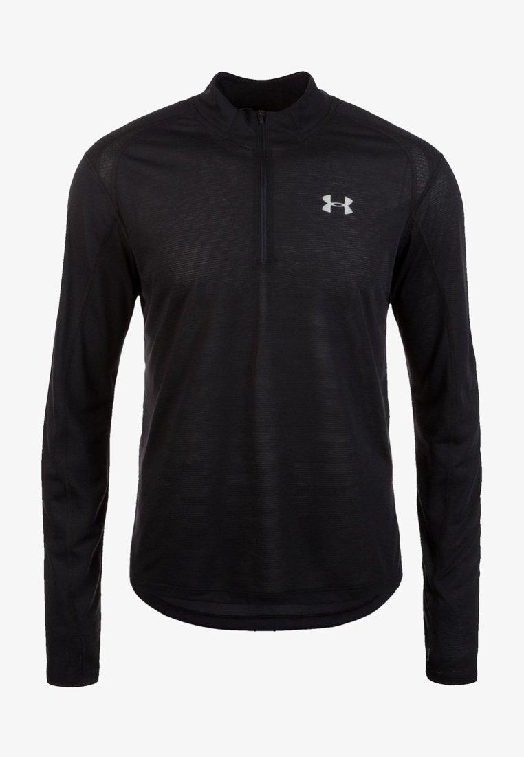 Under Armour - STREAKER - Sports shirt - black