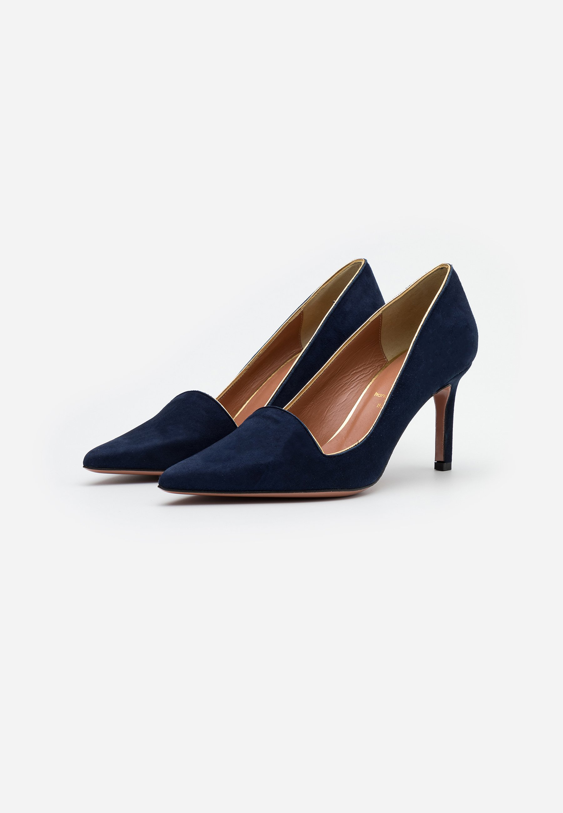 Oxitaly STEFY  Pumps night shade/gold/dunkelblau